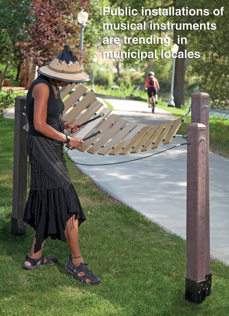 Public Installations of Musical Instruments