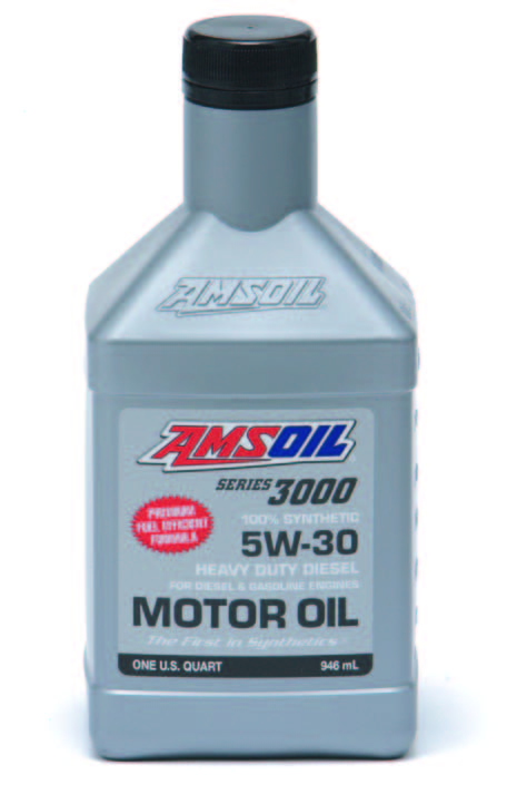 Amsoil series 3000 100 percent synthetic oil the municipal for Amsoil 100 synthetic motor oil