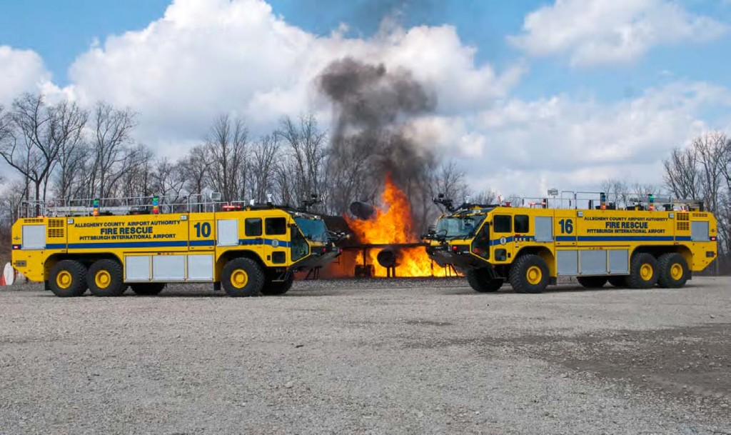 ARFF trucks training