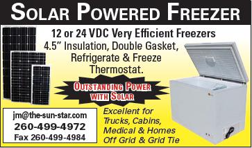 Solar Powered Freezer