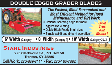 Stahl Industries - Double Edged Grader Blades