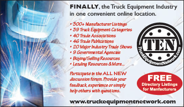 The truck equipment industry in one convenient location