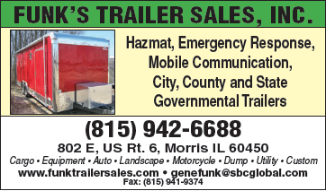 Hazmat, Emergency Response, Mobile Communication, City, County and State Governmental Trailers