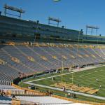 LAMBEAU FIELD — Home of the Green Bay Packers