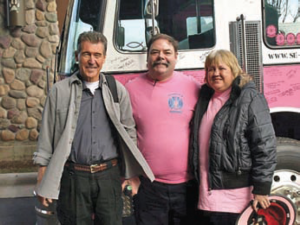 "Randolph Mantooth, left, star of the 1970s television show ""Emergency,"""