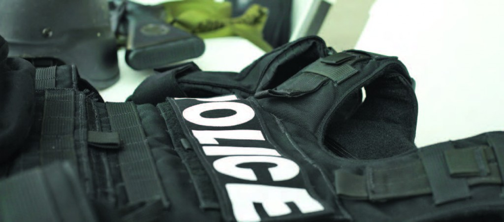 bulletproof vests protect officers and military personnel
