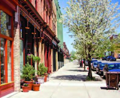 Resurfacing streets, repairing sidewalks and offering beautification projects like façade restoration