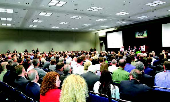 attend one of dozens of training sessions at the 2011 IACP conference
