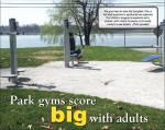 Adult Excercise Equipment in parks