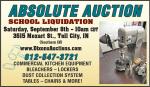 absolute auction school liquidation