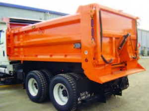 flat floor dump spreader