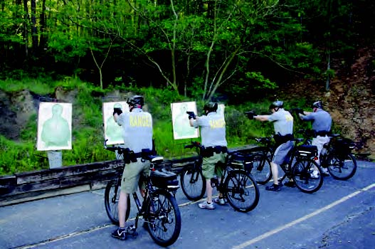 target practice on a bike – The Municipal