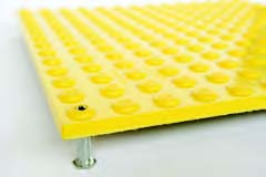 Stp-safe Detectable Warning Tiles