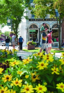 Local investments like renovating a downtown serve as attractors to visitors and are also pleasing residents.