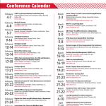 Conference Calendar February 2013