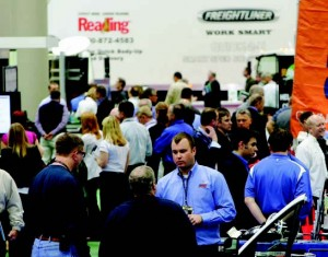 The Work Truck Show 2013 will be March 6-8 at the Indiana Convention Center in Indianapolis. It's North America's largest work truck event and covers more than 500,000 square feet packed with more than 550 exhibitors. (Photo provided)