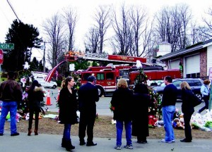 No amount of training could have prepared first responders and authorities for what awaited them Dec. 14 inside Sandy Hook Elementary School. Their neighbors, friends and the AFSCME are trying to help them cope with the aftermath. (Gina Jacobs/Shutterstock)