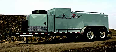 Double Wall Fuel Trailer