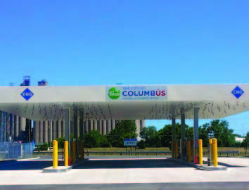 Columbus made sure the infrastructure was in place to make newer technologies viable.