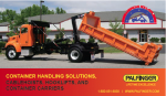palfinger container handling