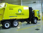 As a step to reduce emissions, Columbus, Ohio, has introduced CNG vehicles