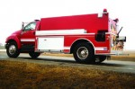 All-Poly PT2 1,800 gallon Wildland tanker