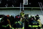 Firefighters engage in hands-on training at the 2012 FDIC.
