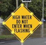Flood Zone Blinker Signs