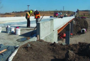 Iowa's Department of Transportation replaced the U.S. Highway 6 Keg Bridge, built in 1953, using accelerated bridge construction that cut construction time from six months to just two weeks of traffic disruption for the public.