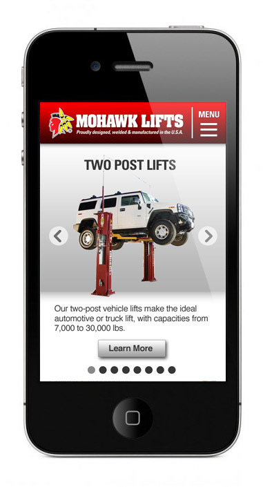 Mohawk Mobile Site