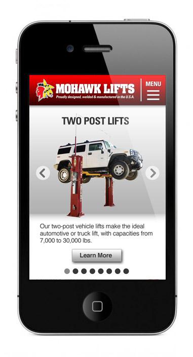 Mohawk Mobile Site