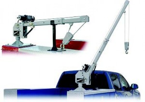 COMPACT CRANE WITH 2,000-POUND LIFTING CAPACITY