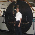 Richard Grove, finance director for Lower Allen Township, Pa., had the unique opportunity to tour the famous London Tower Bridge's former mechanical work area.