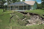 One reason for an apparent increase in sinkhole activity is migration to previously undeveloped areas that are at risk for sinkhole events. It's important to educate developers and residents about the nature of sinkholes and identify potential problem sites that may need attention before a collapse occurs. (Photo provided)