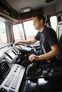 Moving vehicles have limits, and it's easy to lose control — especially in the heat of responding to a scene. (Shutterstock photo)