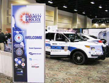 Vehicle upfit and other displays of forerunning law enforcement and security technology drew visitors to the Midwest Security and Police Conference and Expo in Tinley Park, Ill., Aug. 20–21.