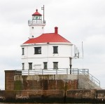 The U.S. Coast Guard has jurisdiction over six lighthouses in Minnesota, including Superior Entry South Light. (Photo provided)