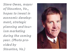 Mayor of Staunton, VA Steve Owen
