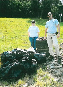 Volunteers clean up different areas of Asheboro. (Photo supplied)