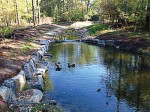 Fairfax County, Va., worked with Wolftrap Creek, in Vienna, Va.'s, Wildwood Park, to improve the stream's flow and course. (Photo provided)