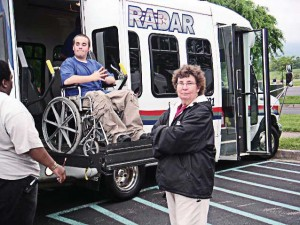 Disabled residents rely on public transportation to maintain an independent lifestyle and improve their circumstances. (Photo provided)