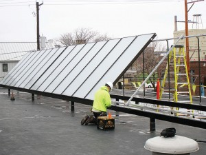 Due to a dynamic program designed to promote the use of solar in the region around Milwaukee, Wis., Milwaukee Brewing Co. installed solar water heaters that have attracted the attention of the media, residents and other breweries. (Photo provided)