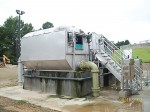 New tertiary filters were among the upgrades at the wastewater treatment plant. (Photo provided)