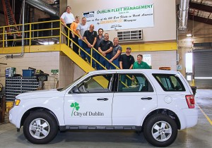 Dublin Division of Fleet Management was been ranked 25th of the 100 Best Fleets in North America in 2013. Applicants for the award are judged in 12 areas of criteria: accountability, use of technology, collaboration, creativity, efficiency and staff development. (Photo provided)
