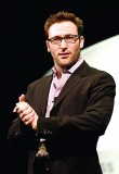 Leadership expert Simon Sinek has the goal of building a world in which everyone goes home at the end of the day feeling fulfilled. At nafa 2014 he'll share ways to inspire innovation, profit, loyalty and success in your department. (Photo provided)