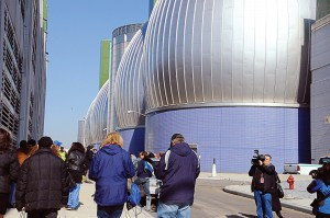 While Superintendent James Pynn, Newtown Creek Wastewater Treatment Plant, never intended the February installment of its monthly public facility tour to go viral, he welcomed the opportunity to increase awareness of the plant's function and procedures. (Photo provided)
