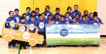 School children in Sioux City demonstrate their commitment to participate in the Blue Zones Project (Photo provided)