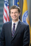 Buttigieg is the youngest mayor to be elected to a city of South Bend, Ind.'s size. He's also now believed to be the first mayor deployed while serving in office. (Photo provided)