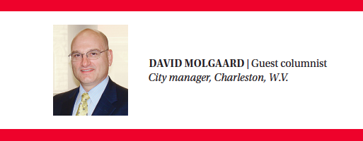 DAVID MOLGAARD | Guest columnist City manager, Charleston, W.V.