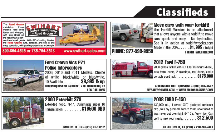 Classifieds From the South Edition